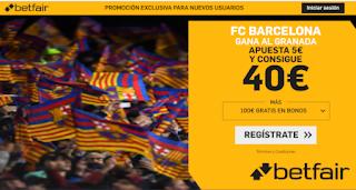 betfair supercuota liga Barcelona gana Granada 19 enero 2020