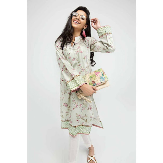 Gul Ahmed gale Gul off White color unstitched shirts collection
