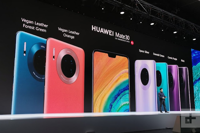 The Huawei Mate 30 Pro