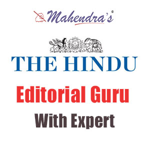 The Hindu: Editorial Guru With Expert | 13.10.18