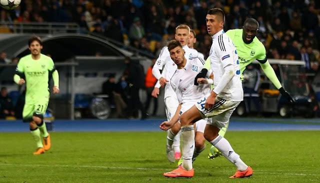 Manchester City vs Dynamo Kiev en vivo