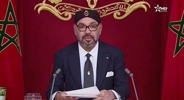 taroudant press : Le Roi annonce avec un discours la marche Le port atlantique de Dakhla est un projet global similaire à Tanger Med