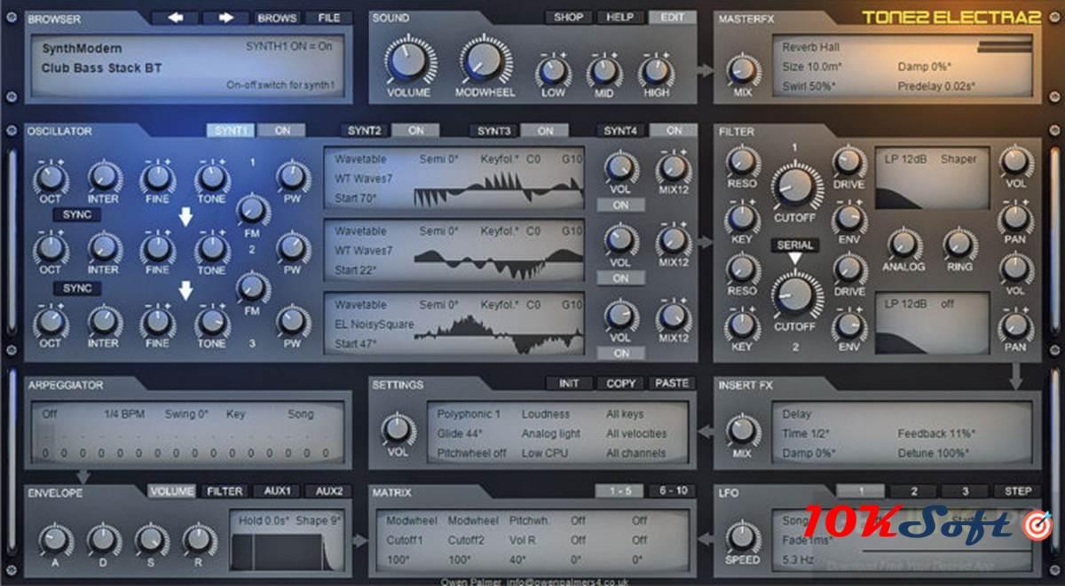Download Tone2 Electra2 Offline Installer DMG for Mac OS