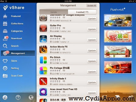 How to Download Vshare from Cydia & How to Use it
