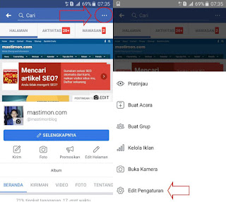 How to turn off Facebook page notifications (Fanspage)