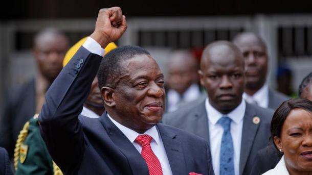 Ukarabati Wamkwamisha Rais wa Zimbabwe Kuingia Ikulu