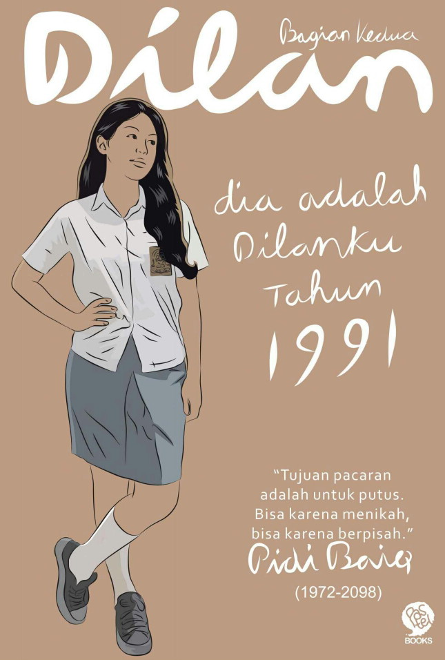 Novel : Dilan 1991 Pidi Baiq
