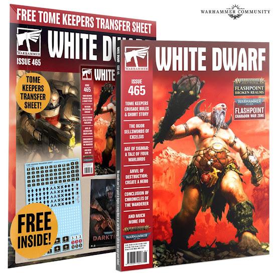 White Dwarf 465  calcas