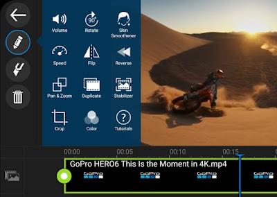 Make GoPro slow motion videos in PowerDirector