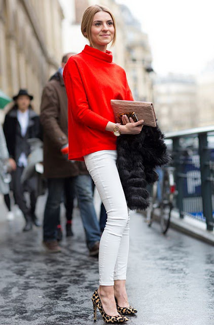 Red Glamour Cool Chic Style Fashion