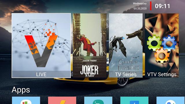 تحميل تطبيق VTV MOD لمشاهدة القنوات العالمية و العربية و الافلام و المسلسلات بدون كود تفعيل