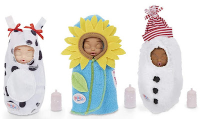 Пупсики Baby Born Surprise Series 2 подсолнух, снеговик, буренка