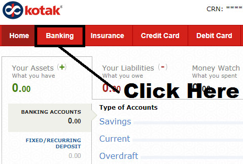 how to apply for new cheque book in kotak mahindra bank online