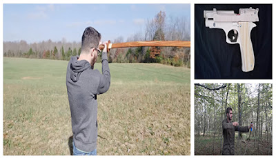 como hacer armas caseras de madera