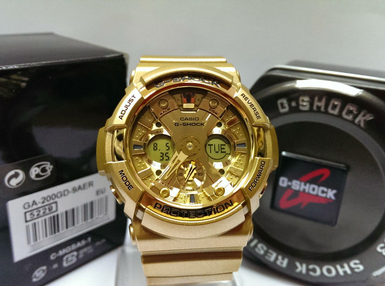 9b662aa8335 Relógios Importados  Relógio G-Shock GA200GD-9A
