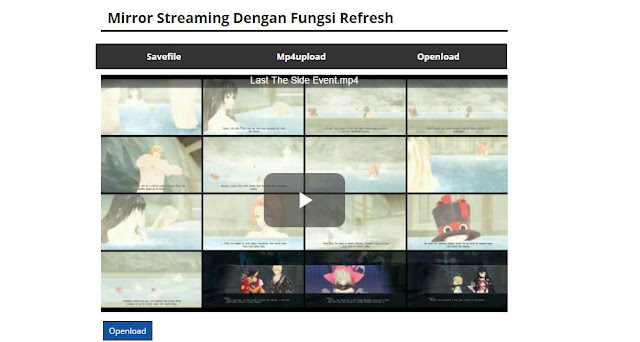Mirror Streaming Dengan Fungsi Refresh