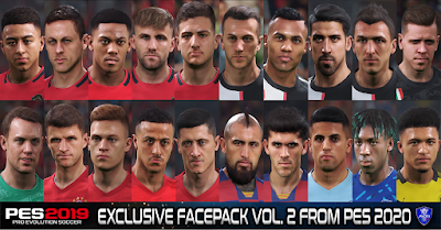 PES 2019 Exclusive Facepack Vol. 2 by Sofyan Andri