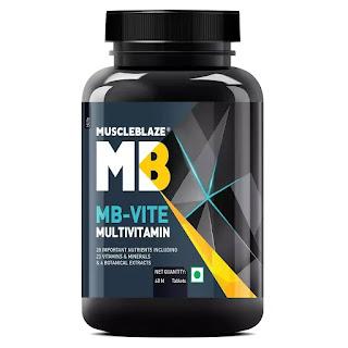 MuscleBlaze MB-VITE Multivitamin with 24 vitamins