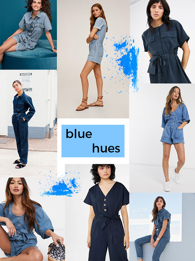 Inspiration and fabrics for making the Alexa jumpsuit + playsuit - Tilly and the Buttons