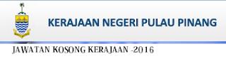 Jawatan Kosong Kerajaan Pulau Pinang