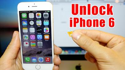 Unlock dien thoai iPhone 6 bang sim ghep