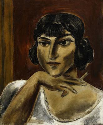 femeie-fumand-yasuo-kuniyoshi-1926