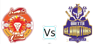 Who will win Today's Match between Quetta Gladiators Vs Islamabad United?