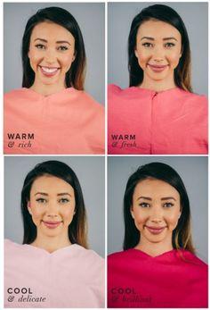 Девушка в розовых оттенках