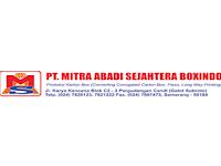 Lowongan Kerja Semarang Bulan Februari 2020 - PT. MAS Boxindo