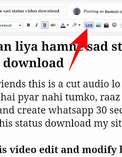Post me download button add kaise kare 4