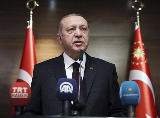 Ερντογάν: Τα σκάφη μας συνεχίζουν τις δραστηριότητες στην ανατ. Μεσόγειο