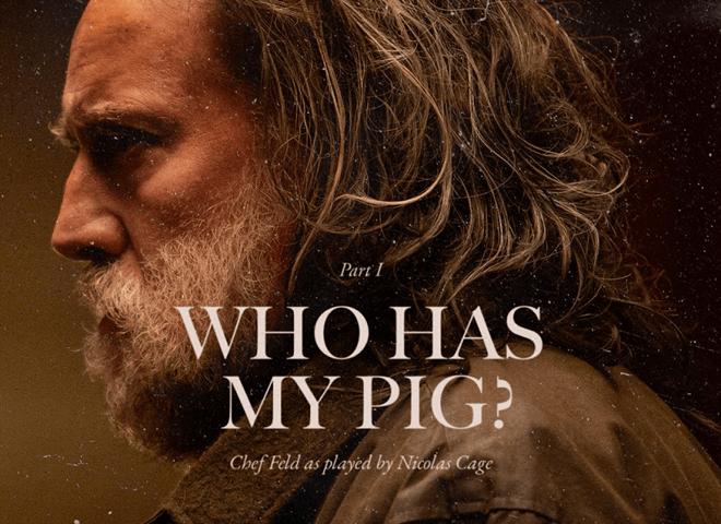 Nicolas cage y su cerdo perdido
