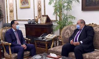 رئيس الوزراء يلتقى المدير التنفيذي لصندوق النقد الدولي