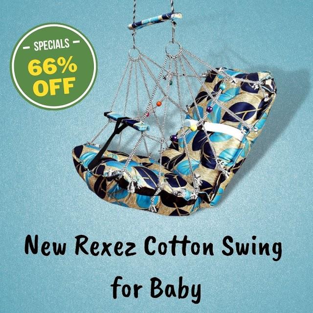 Buy New Rexez Cotton Swing for Baby India 2021