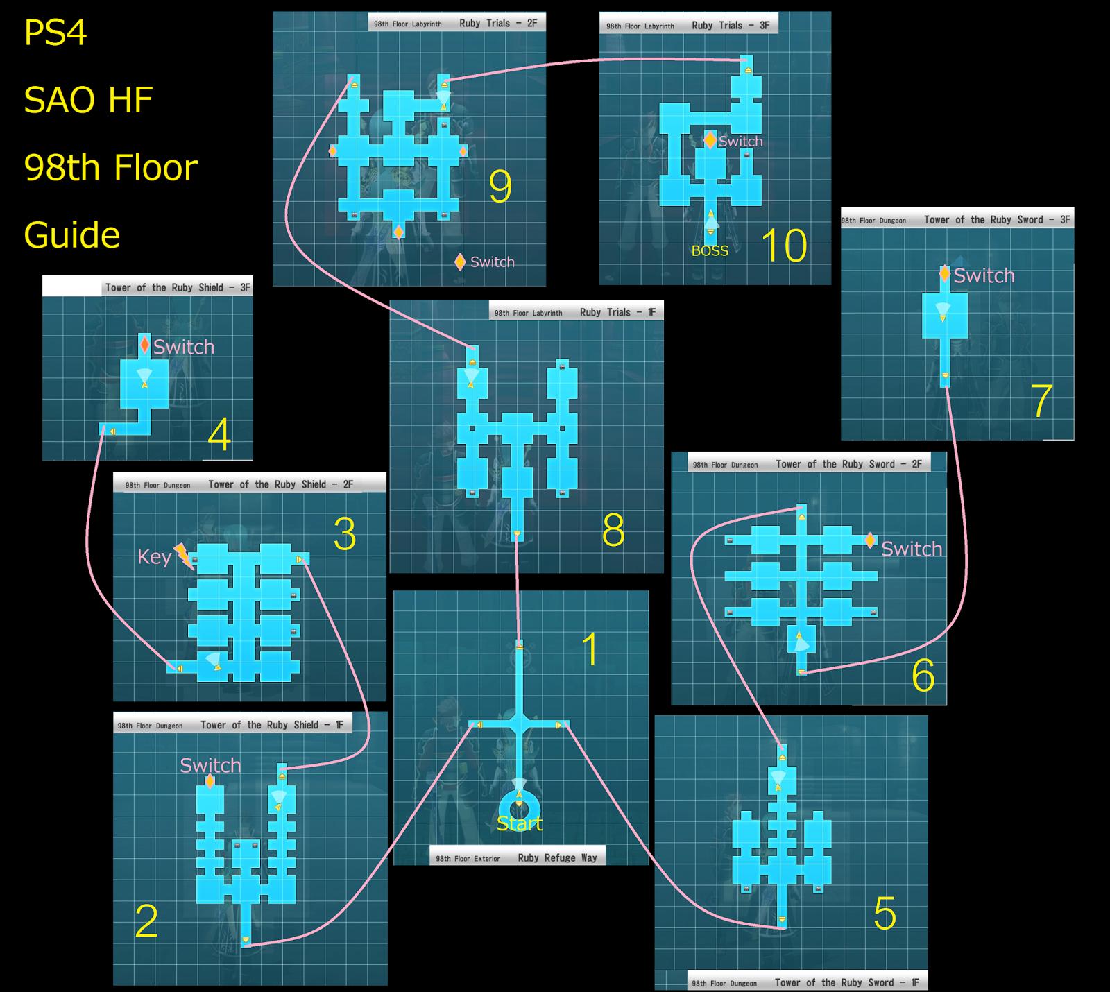 Hatsunu Mike: Sword Art Online : Hollow Fragment Aincrad 98-99-100th