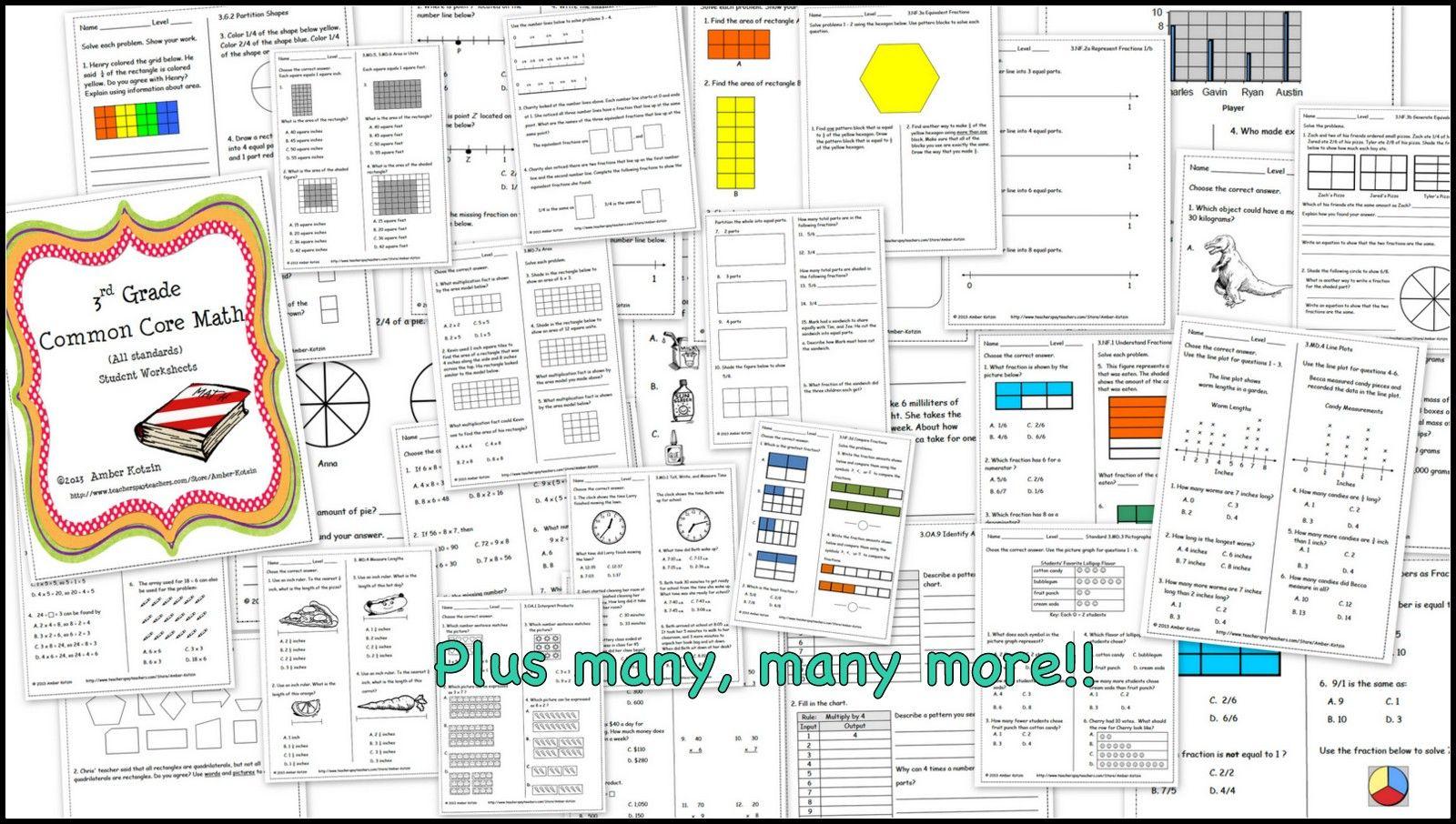 New Tales Of A Third Grade Teacher Math Common Core