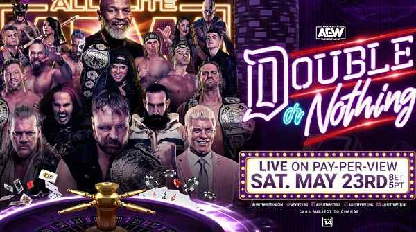 Watch AEW Double or Nothing 2020 PPV 5/23/2020 Full Show Online Free