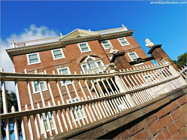 Exterior de la Mansión de John Brown en Providence, Rhode Island