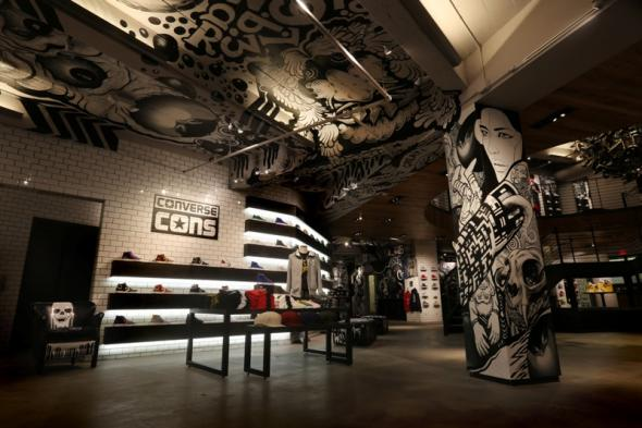 Converse, Flagship Store, San Francisco, green pear diaries
