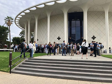 Martians gather at the Caltech Beckman Auditorium for the Ninth International Mars Conference (Source: Palmia Observatory)