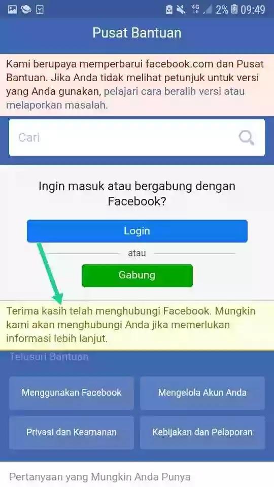 Cara Mengubah Nama FB Menjadi Kosong 2020