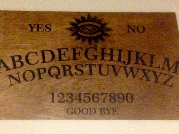 """Другие названия: спиритическая планшетка, доска Уиджи, Ouija board, говорящая доска, witchboard, ведьмина доска, доска для спиритических сеансов.  Спиритическая доска существует с незапамятных времен. Она появилась раньше шахмат и карт, которые, как известно, сопровождают человека уже много веков, возникнув в древних цивилизациях.  Согласно легенде, впервые доску Уиджа использовали в храмах Сета – злобного древнеегипетского божества (прообраза сатаны или дьявола). Ее устройство немного отличалось от нынешнего. Вместо указателя применялось золотое кольцо, подвешенное на длинной нити над огромным круглым столом. На поверхности стола были вырезаны иероглифы и магические символы. Впрочем, и сейчас, есть любители сочетать доску не с указателем бегунком, а с надежным и проверенным в работе маятником. Начиная с 60-х годов прошлого века, """"говорящие доски"""" переживают новое возрождение интереса к ним. Теперь уже делом чести многих колдунов и ведьм становится сделать свою собственную доску с неповторимым дизайном.    Доска Уиджа также безвредна как доски для шахмат и шашек, она сродни гадальным картам и даже имеет с ними общие корни. Люди задают вопросы, обращаясь к душам умерших родственников или какой-то мистической силе, и доска передает им ответы. Она служит информационным каналом между нашей реальностью и потусторонним миром. Говорящая доска Уиджа помогает научиться чувствовать момент установления контакта с духами. Много было написано об «опасности» говорящих досок, в то время как это не опаснее, чем использование электричества в обычной жизни. Нужно просто быть внимательным."""