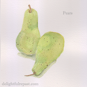An Announcement - Nothing to Do with Pears / www.delightfulrepast.com