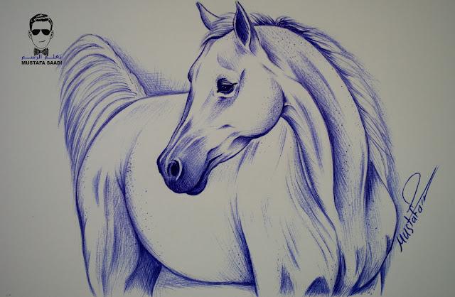 تعلم كيفية رسم حصان