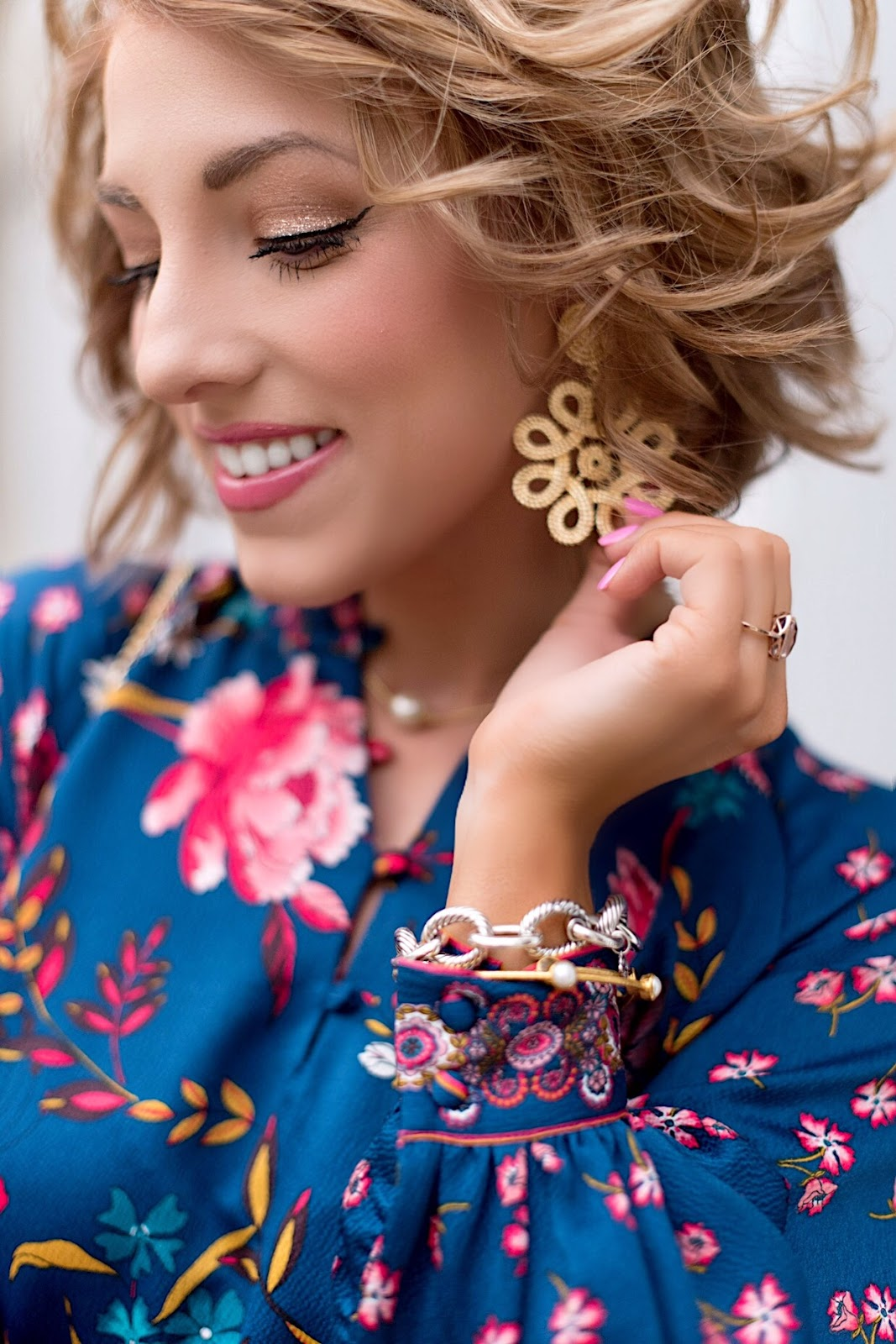 Lisi Lerch Statement Earrings - Click through to see more on Something Delightful Blog