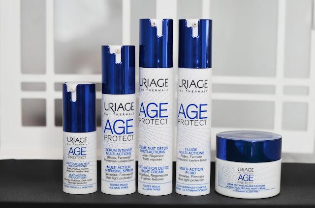 Uriage Age Protect состав отзыв анти эйдж косметика, от морщин