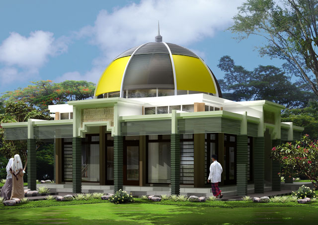 30 Model Masjid Minimalis Dengan Model Masjid Modern dari Seluruh Dunia WAJIB BACA