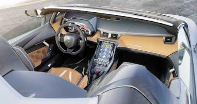 Lamborghini Centenario Roadster Fast Supercar Interior