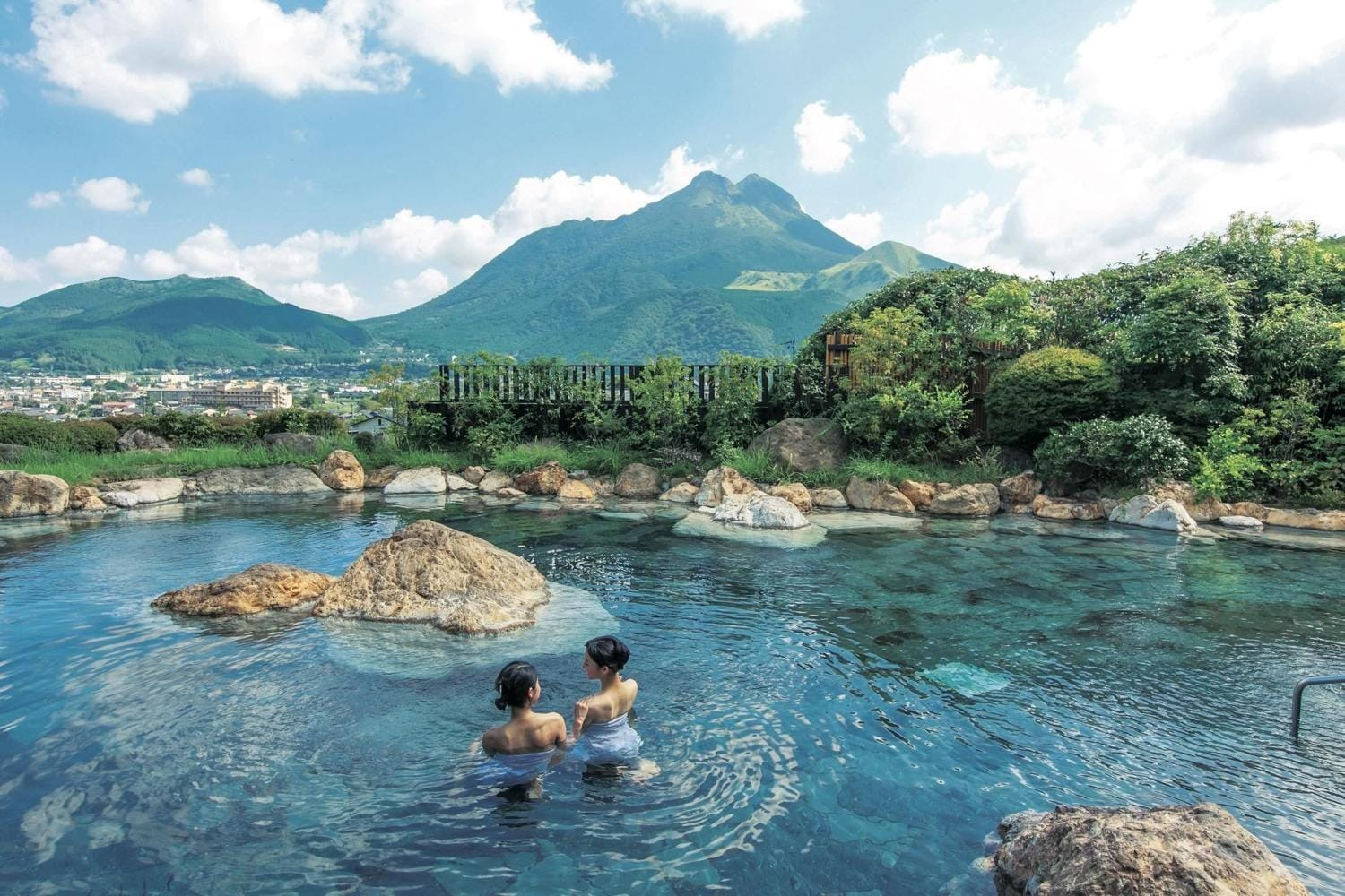 My First Onsen Hot Spring Experience In Yufuin Japan