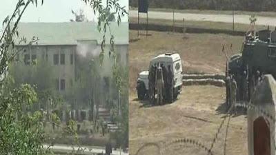 श्रीनगर एयरपोर्ट से सटे बीएसएफ कैंप पर हमला, 10 चले ऑपरेशन में तीनों आतंकी ढेर